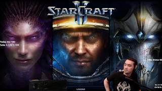 Starcraft 2: Crushing Masters 1+ Ladder as Random! (Terran, Zerg & Protoss)