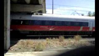 preview picture of video 'Il passaggio del Frecciargento'