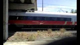 preview picture of video 'Il passaggio del Frecciargento'