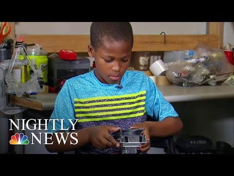 11-Year-Old Invents Device To Help Prevent Leaving Children In Hot Cars | NBC Nightly News