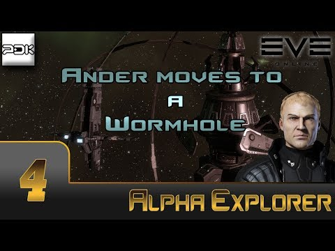 EVE Online: Exploration Alpha #4 - Ander lives in a Wormhole