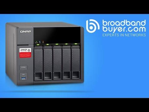 QNAP TS-453B 4-Bay Network Attached NAS Storage Enclosure