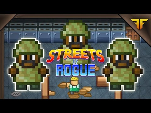 Streets of Rogue is the most insane rogue-lite I've ever played