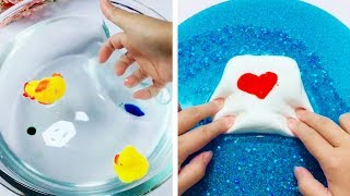 The Most Satisfying Slime ASMR Videos | Relaxing Oddly Satisfying Slime 2019 | 136