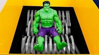 Experiment: Shredding Machine Vs Hulk