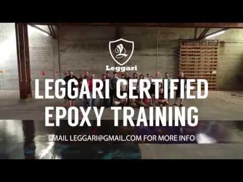 Leggari Certified Epoxy Training - YouTube