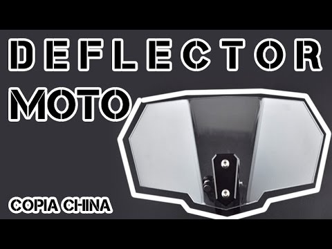 Deflector Moto LOW COST