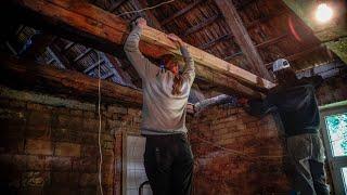 Repairing 200 Years old wood Beams