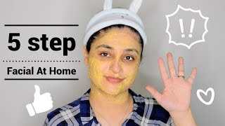 DIY Easy Facial At Home For A Glowy, Flushed Skin— SPA AT HOME. #skinbrighteningfacial