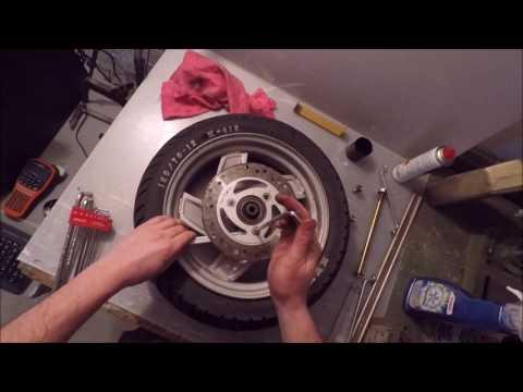 Rollerprojekt #5 - Reifen abziehen (Versuch xD )