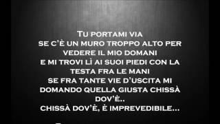 Fabrizio Moro Portami Via Testo