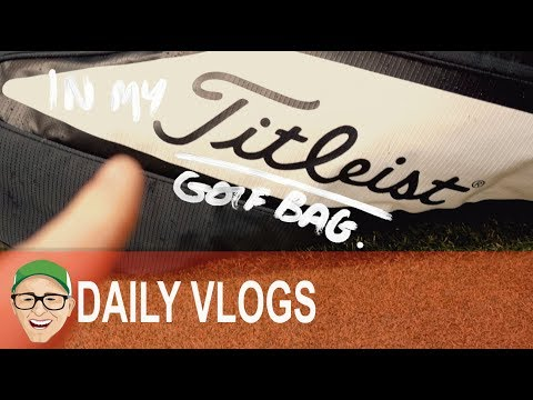 IN MY TITLEIST GOLF BAG
