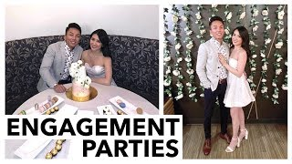 OUR ENGAGEMENT PARTIES | October Vlog