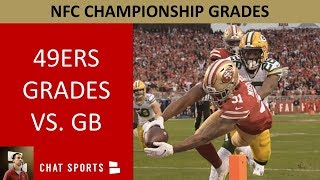49ers Grades in 37-20 Win Over Packers To Advance To Super Bowl 54