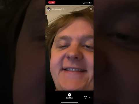 Lewis Capaldi - Before You Go (entire instagram story)