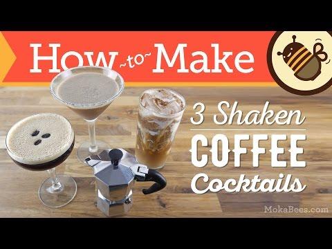 Video 3 Coffee Cocktails : Mocha Margarita, Horchata Coffee Cocktail & Espresso Martini