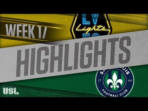 Las Vegas Lights - Saint Louis FC 1:0. Видеообзор матча 08.07.2018. Видео голов и опасных моментов игры