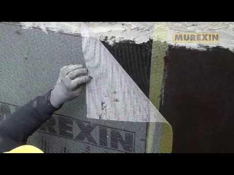 Murexin Bitumen Fundamentaldichtung - Verarbeitungschritte