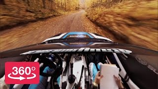 Rallying in 360º with Peer-Thru Technology