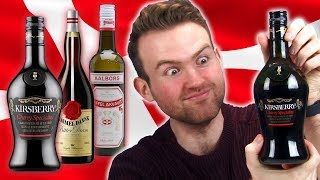 Irish People Taste Test Danish Alcohol