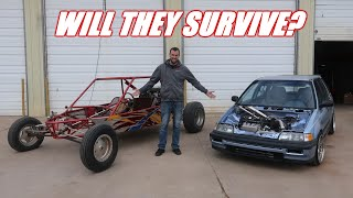 V6 Dune Buggy And Wago VS JAMES (Didnt Have To Fight Him)