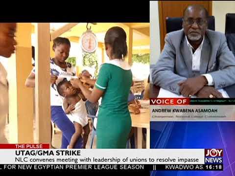 UTAG/GMA Strike - The Pulse on JoyNews (1-8-18)