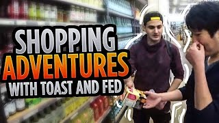 Scarra- THE ULTIMATE ERRAND BOYS Ft. Fedmyster and Disguised Toast! [VERY HELPFUL]