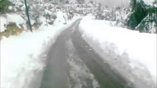 preview picture of video 'العاصفة الثلجية (ألكسا) سوادا_ السلط الجمعة 13_12_2013 ج2'