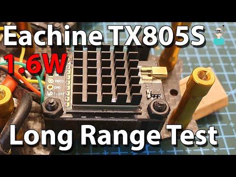 Eachine TX805S - Best Budget Friendly Long Range VTX?