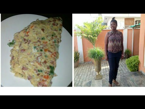 EASY WAY TO MAKE NIGERIA SAUSAGE OMELETTE
