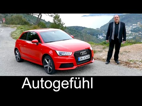 2016/2015 Audi A1 (Sportback) Facelift test driven FULL REVIEW - Autogefühl