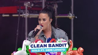 Clean Bandit - 'solo' Ft. Demi Lovato  At Capital's Summertime Ball 2018