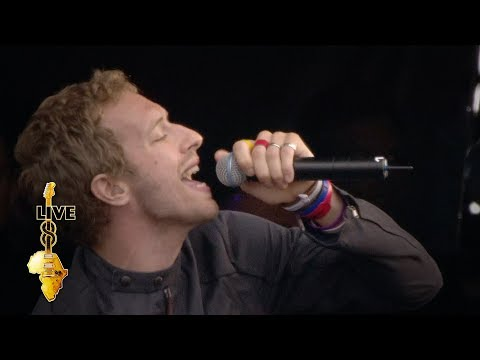 Coldplay - In My Place (Live 8 2005)