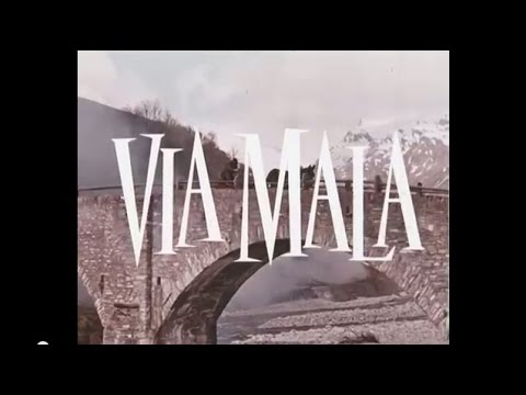 AFFICHE LITHO / FROEBE / KAUFMANN / VIA MALA