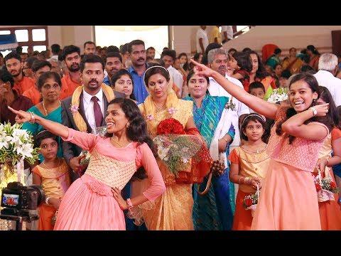 Best Wedding Entrance ! Kerala Wedding Welcome Dance Ajo Riya