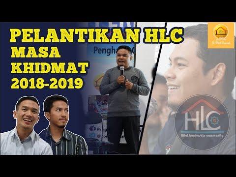 PELANTIKAN KETUA HILAL LEADERSHIP COMMUNITY (HLC) MASA KHIDMAT 2018-2019