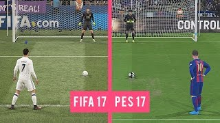 FIFA 17 Vs PES 17: Penalty Kicks