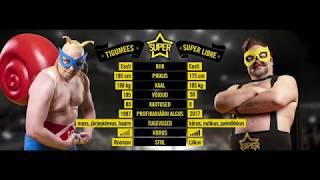 Super Libre vs Tigumees wrestling