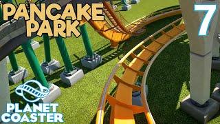 Planet Coaster PANCAKE PARK - Part 7 - PANCAKE SUPPORTS
