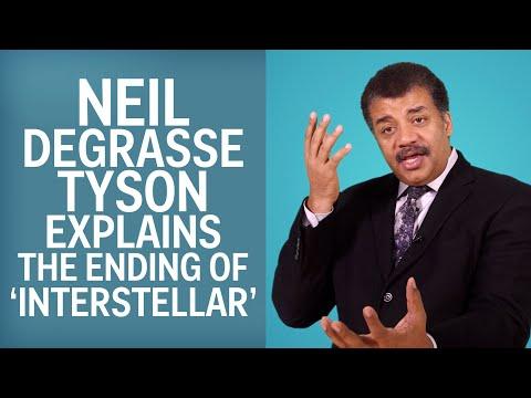 Neil deGrasse Tyson vysvětluje cestování časem v Interstellaru