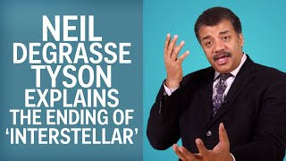 Neil DeGrasse Tyson Explains The End Of Interstellar