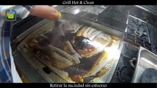 Limpia Planchas En Caliente - Sistema Grill Hot & Clean