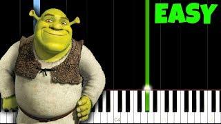 Hallelujah - Leonard Cohen [Easy Piano Tutorial] (Synthesia)