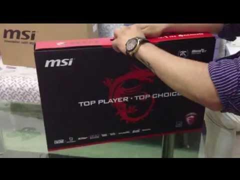 MSI GT72 Dominator Unboxing (GT72-2QD-1019XCN)