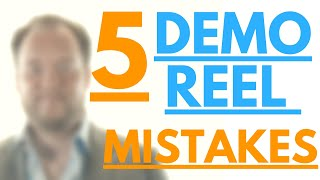 Demo Reel Top 5 Mistakes That Are Costing You The Job in 2019 (VFX / Design)