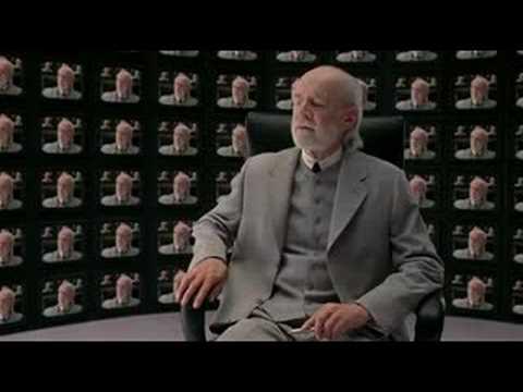 George Carlin - (Matrix) Architect Parody.