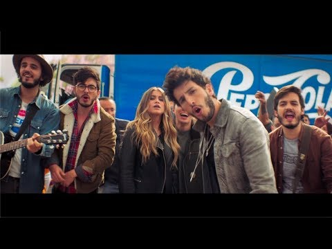 Sebastian Yatra, Morat Y Sofia Reyes! Joy Of Pepsi UNICO VIDEO!!!