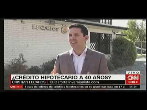 Cristian Lecaros en CNN Chile