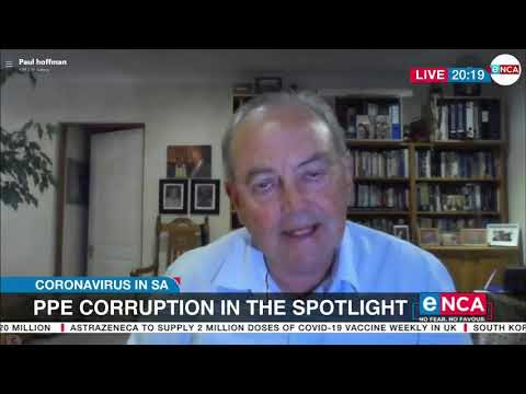 Discussion PPE corruption in the spotlight