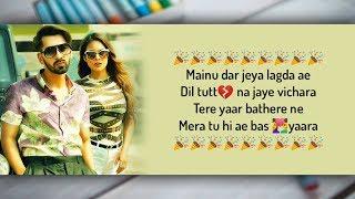 Sakhiyaan Lyrics - Maninder Buttar, MixSingh   - YouTube